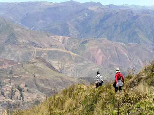 Die 'Nase' wird im unteren Bereich besonders steil... Sorata, Bolivien (Foto Jörg Schwarz)
