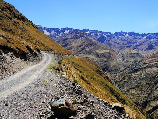 Der höchstgelegene Mirador am Illampu (4.000 m), Sorata, Bolivien (Foto Jörg Schwarz)