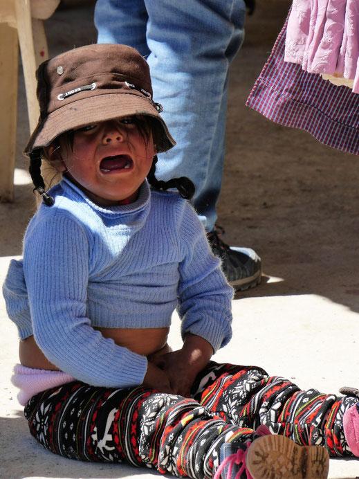 So schlimm ist Uyuni nun auch nicht... Uyuni, Bolivien (Foto Jörg Schwarz)