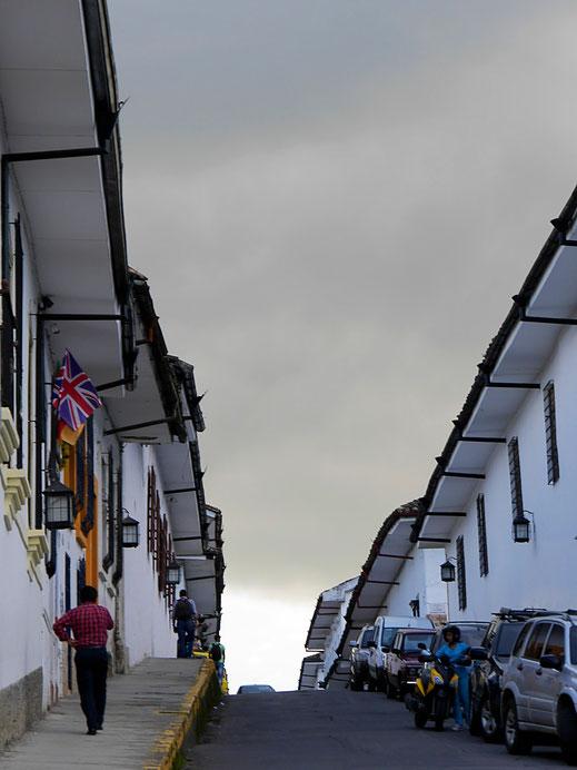 Tolle Lichteffekte in der weißen Stadt, Popayán, Kolumbien (Foto Jörg Schwarz)