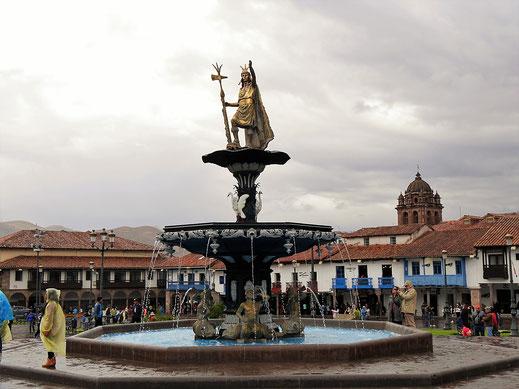 Wolken über der Stadt, Cusco, Peru (Foto Jörg Schwarz)