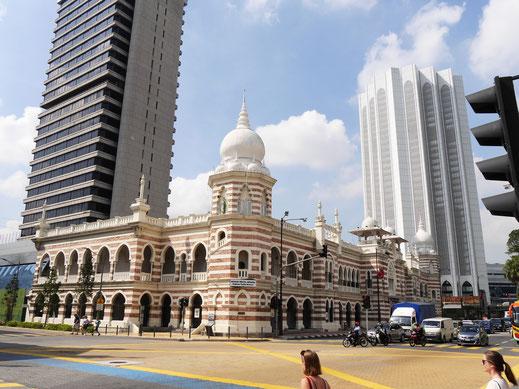 Kuala Lumpur bietet viel Alt und Neu in direkter Nachbarschaft... Kuala Lumpur, Malaysia (Foto Jörg Schwarz)