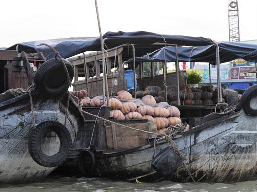 Es scheint Kürbiszeit zu sein... Can Tho, Vietnam (Foto Jörg Schwarz)