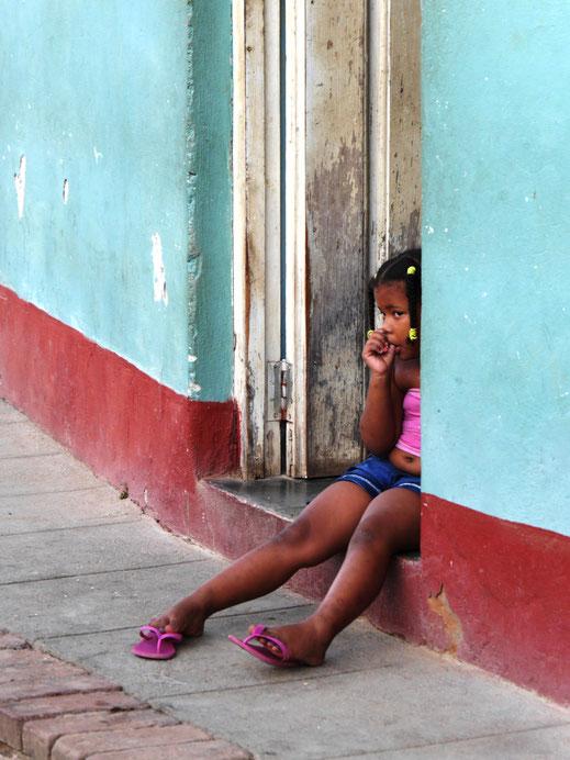 Das Leben ist auf der Straße! Trinidad, Kuba (Foto  Jörg Schwarz)
