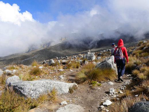 Einer der schönsten Treks Kolumbiens, Parque Nacional del Cocuy, Kolumbien (Foto Jörg Schwarz)