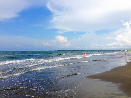 Die Playa de las Boquilla, Cartagena, Kolumbien (Foto Jörg Schwarz)