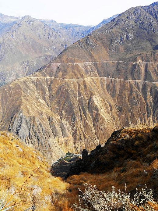 Das ist es jetzt aber fast... Colca-Canon, Peru (Foto Jörg Schwarz)