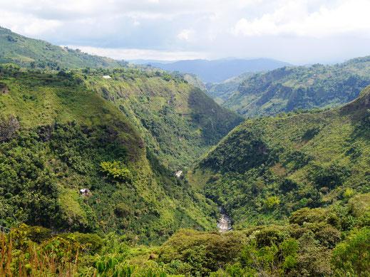 Unser letzter Vorschlag für Gemütliche: Trekking in der Region San Augustin, Kolumbien (Foto Jörg Schwarz)