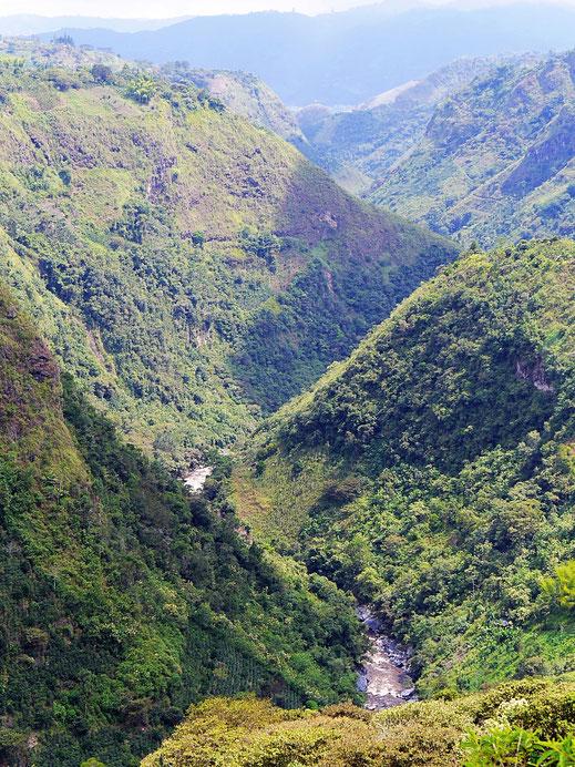 Die Schlucht des Río Magdalena, San Augustín, Kolumbien (Foto Jörg Schwarz)