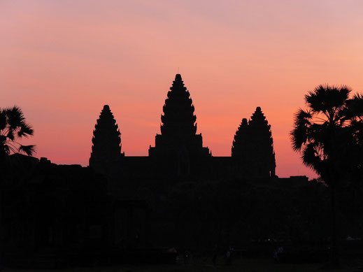 Angkor Wat - besonders beeindruckend im Sonnenaufgangslicht...? Siem Reap, Kambodscha (Foto Jörg Schwarz)