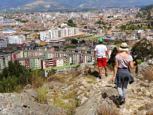 Beim Abstieg, Sogamoso, Kolumbien (Foto Jörg Schwarz)