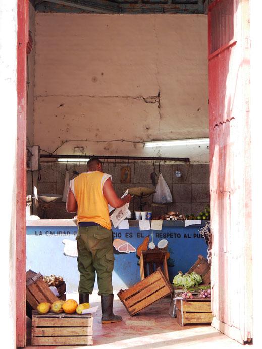Gemüsehändler in Camagüey, Kuba (Foto Jörg Schwarz)
