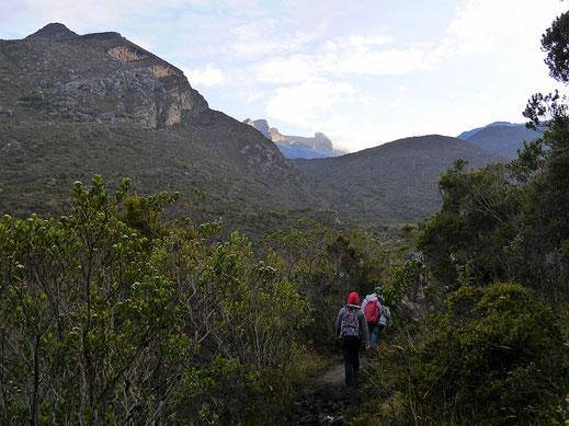 Es ist noch düster um 6:00 Uhr morgens, Parque Nacional del Cocuy, Kolumbien (Foto Jörg Schwarz)