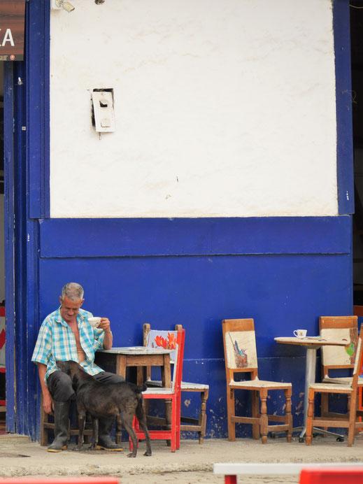 Der hiesige Kaffee ist einer der besten Kolumbiens... Jardin, Kolumbien (Foto Jörg Schwarz)