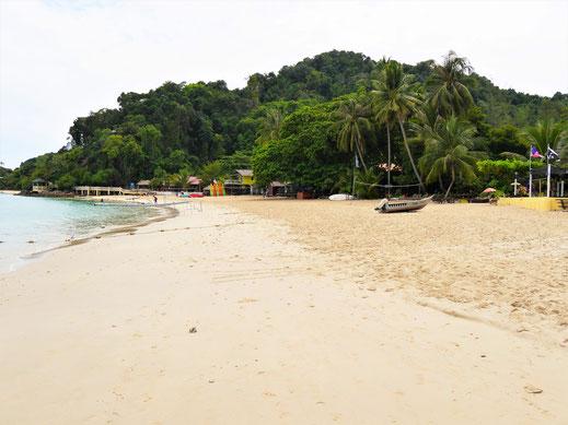 Sie hat eigentlich alles... Pulau Kapas, Malaysia (Foto Jörg Schwarz)