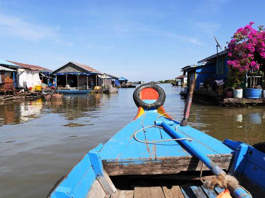 Spannende Einblicke in das Schwimmende Dorf bei Kompong Chhnang, Kambodscha (Foto Jörg Schwarz)