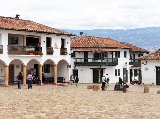 Es macht einfach Spaß sich hier treiben zu lassen... Villa de Leyva, Kolumbien (Foto Jörg Schwarz)