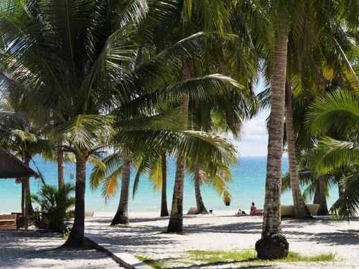 Wie der Name schon sagt: Coconut-Beach, Kog Rong, Kambodscha (Foto Jörg Schwarz)