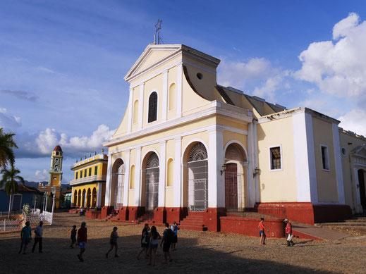 Iglesia Parroquial de la Santínisma Trinidad, Trinidad, Kuba (Foto Jörg Schwarz)