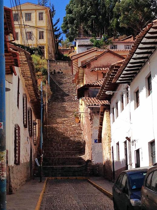 Kondition und eine gute Akklimatisierung sind in Cusco von Vorteil, Cusco, Peru (Foto Jörg Schwarz)