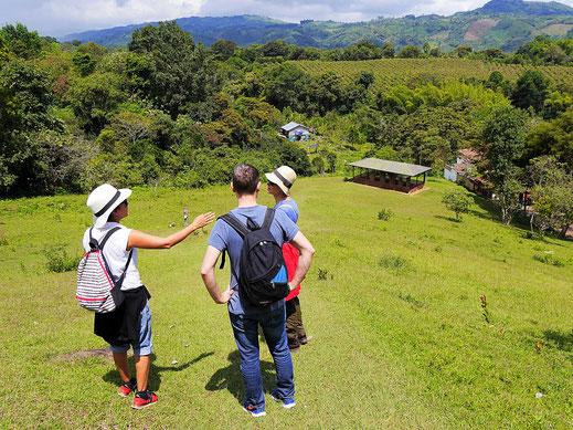 Diskussionen während der Wanderung bleiben nicht aus... San Augustín, Kolumbien (Foto Jörg Schwarz)