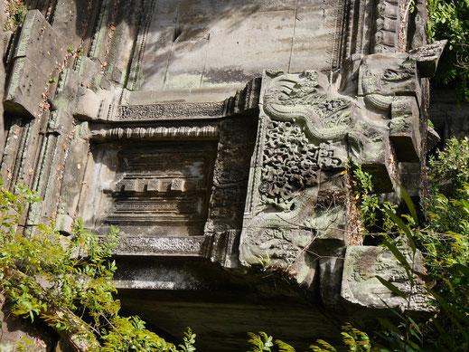 Aber sehr schöne Ausblicke von oben auf die umliegende, bewaldete Umgebung, Ta Keo, Kambodscha (Foto Jörg Schwarz)