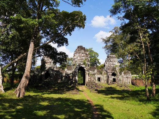 Wem das nicht ausreicht: Man kann sich in den verzauberten und völlig einsamen Tempelruinen wie ein Entdecker fühlen... Region Preah Vihear, Kambodscha (Foto Jörg Schwarz)