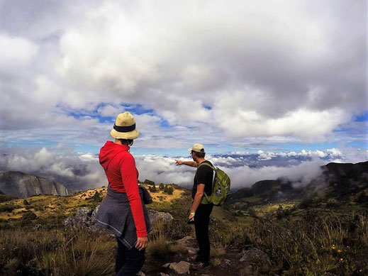 Irgendwo da liegt Monguí... Monguí, Kolumbien (Foto unbekannt)