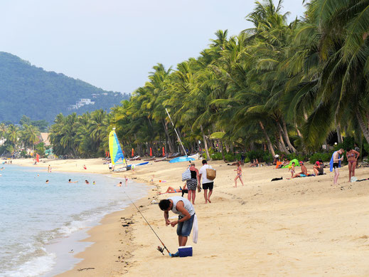 Der Maenam Beach, Koh Samui, Thailand (Foto Jörg Schwarz)