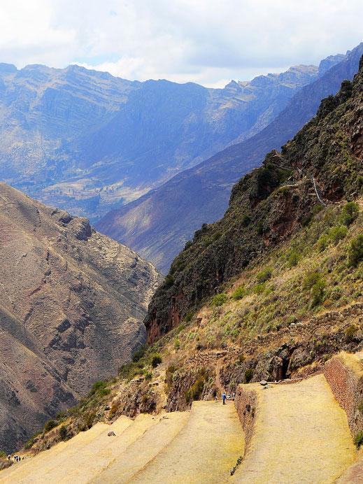 Was für beeindruckende Ausblicke in das Heilige Tal, Pisac, Peru (Foto Jörg Schwarz)