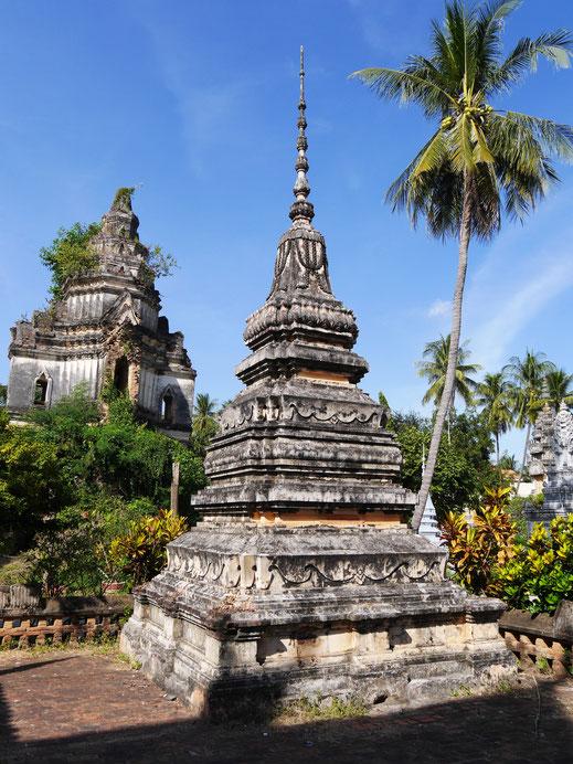 Das Areal hat denn auch Schönes zu bieten, Battambang, Kambodscha (Foto Jörg Schwarz)