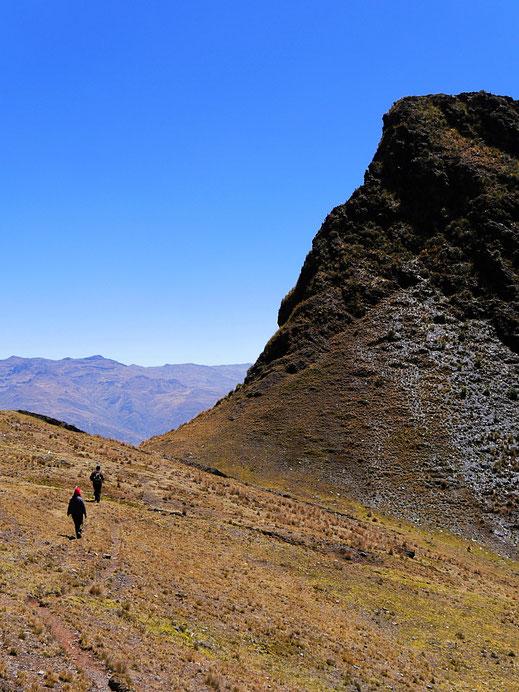 Die Landschaft ist einfach imposant, Sorata, Bolivien (Foto Jörg Schwarz)
