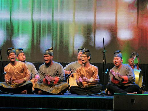 Malaiische Klänge und Gesänge, George Town, Penang, Malaysia (Foto Jörg Schwarz)