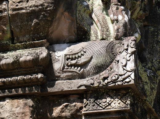 Dieses Motiv sehen wir nur hier... Chau Say Thevoda, Kambodscha (Foto Jörg Schwarz)
