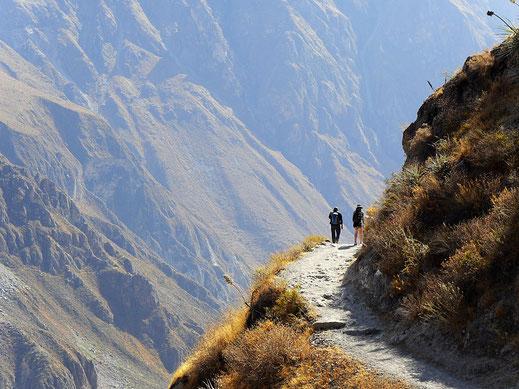 Wundervoller Colca-Canon, Peru (Foto Jörg Schwarz)