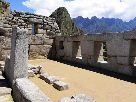 Der Tempel der drei Fenster, Machu Picchu, Peru (Foto Jörg Schwarz)