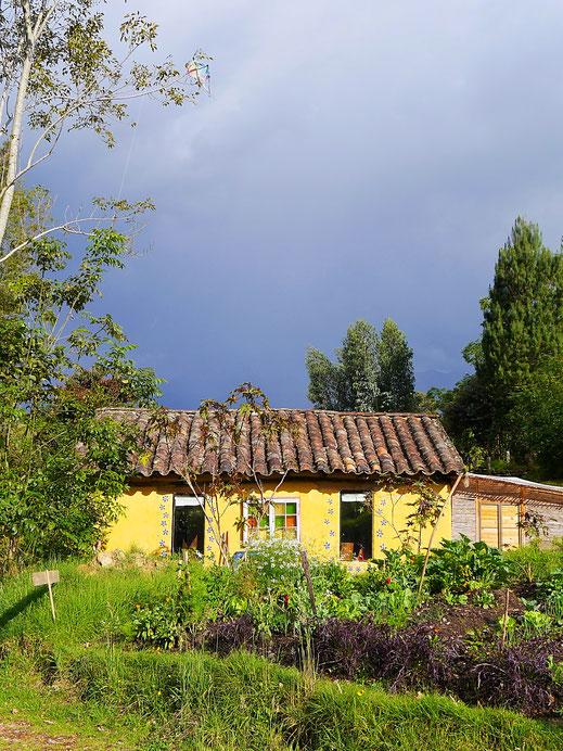 Wunderbares Landhaus mit wundervollem Gemüsegarten, Gachantivá, Kolumbien (Foto Jörg Schwarz)