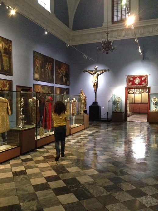 Ausstellungsräume in der Kathedrale, Centro, Lima (Foto Jörg Schwarz)