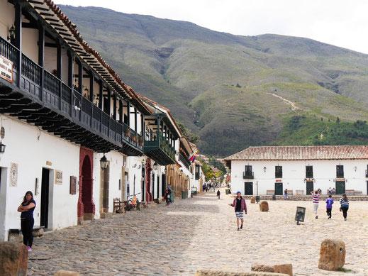 Eine der attraktivsten Kolonialstädte Kolumbiens: Villa de Leyva, Kolumbien (Foto Jörg Schwarz)