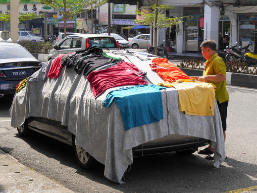 Perfeker Ort zum Wäschetrocknen... Taiping, Malaysia (Foto Jörg Schwarz)