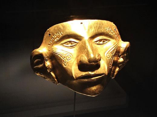 Grossartige Artefakte und Handwerkskunst der indigenen Ureinwohner Kolumbiens - im Goldmuseum, Bogotá, Kolumbien (Foto Jörg Schwarz)
