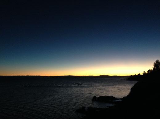 Sobald die Sonne untergeht wird es eiskalt, Santa Maria, Capachica, Peru (Foto Jörg Schwarz)