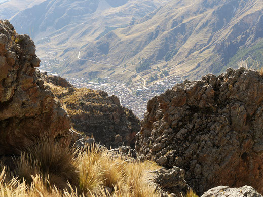 Auf dem Rückweg Richtung Huancavelica, Peru (Foto Jörg Schwarz)