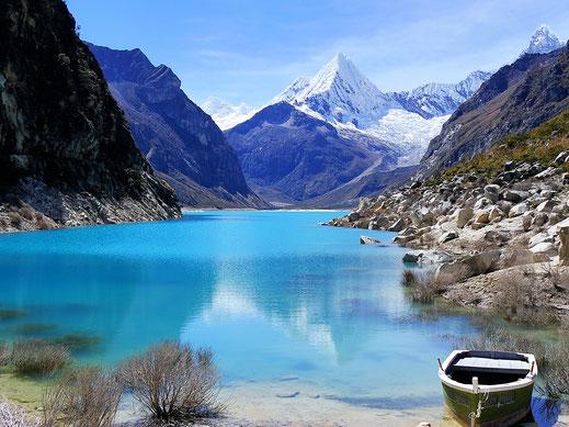 Aber man wird belohnt... Caraz, Peru (Foto Jörg Schwarz)