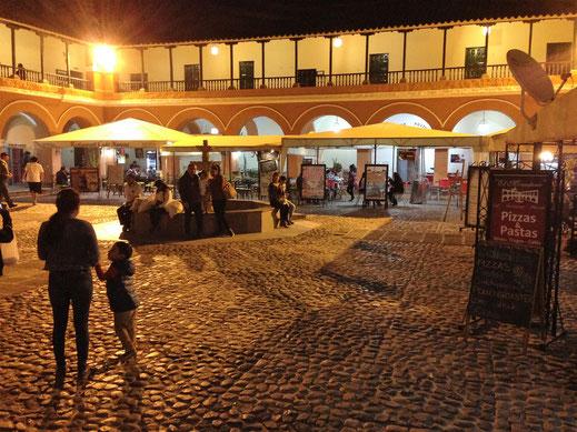 Einer von zahlreichen Innenhöfen Ayacuchos, Ayaczcho, Peru (Foto Jörg Schwarz)