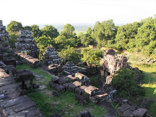 Der Ausblick vom Phnom Bakheng, Kambodscha (Foto Jörg Schwarz)