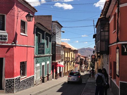 Einfach durch die faszinierende Stadt treiben lassen... Potosí, Bolivien (Foto Jörg Schwarz)