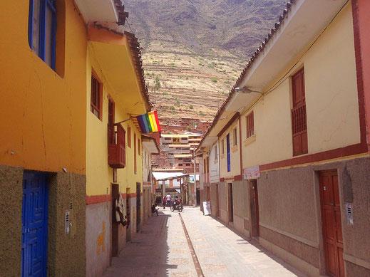 Die engen Gassen mal ganz frei, Pisac, Peru (Foto Jörg Schwarz)