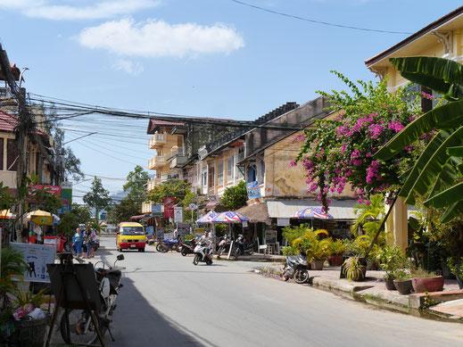 Kampot läd zum Bummeln ein... Kampot, Kambodscha (Foto Jörg Schwarz)