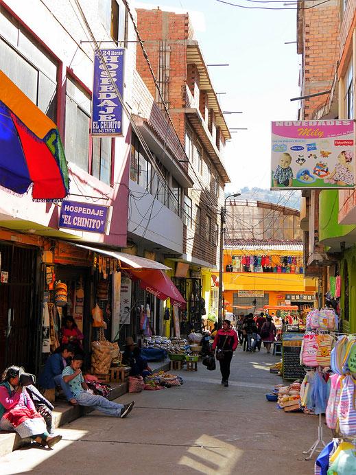 Straßen in Huaraz, Peru (Foto Jörg Schwarz)